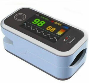 Us Oled Finger Pulse Oximeter Spo2 pr Blood Oxygen Monitor Batteryalarm