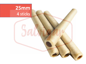 Collagen Casings Dry 25mm 50ft For Stuffing 60 Lb 360 Sausages 3 Sticks
