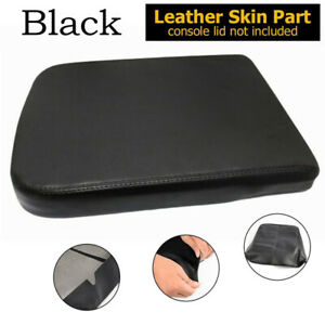 Leather Console Lid Armrest Center Cover For 2002 2008 Dodge Ram 1500 2500 3500