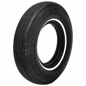Pair 2 Coker Bfgoodrich Vintage Tires 8 25 14 Bias ply Whitewall 53850