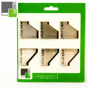 New Moulding Knives Kit Of 6 Back Relief 2 0 Woodmaster Compatible 1045