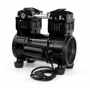 Oil Free Twin Piston Diaphragm Vacuum Pump 8 5 Cfm 280lpm 850w 110v Us Stock