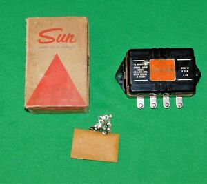 Nos Vintage Sun Eb 9a Transmitter 12 Volt 8 Cyl For Point Distrbutor Chevy
