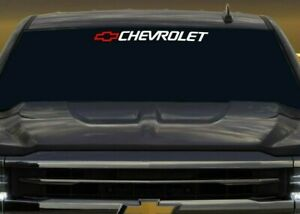 Chevrolet Decal Bed Window Sticker Colorado Blazer Ss Tahoe Silverado 1500 Vinyl