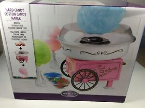 Nostalgia Pcm305 Hard Sugar free Candy Cotton Candy Maker machine Nib