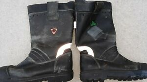 Haix Leather Firefighter Fire Boots
