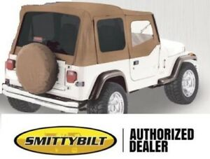 Soft Top For Half Doors Spice Replacement Top 9870217 88 95 For Jeep Yj Wrangler