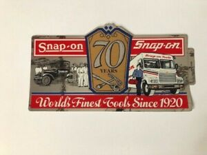 Vintage Snap On Tools Tool Box Sticker Decal New 70th Tools Since 1920 Ssx 1366