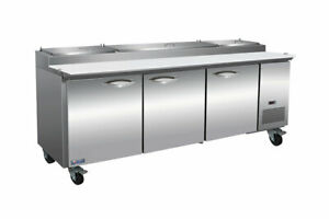 Mvp Group Ikon Ipp94 Refrigerated Counter Pizza Prep Table