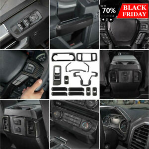 14 Pcs Interior Decoration Trim Kit F150 Accessories For Ford F150 2015 2019