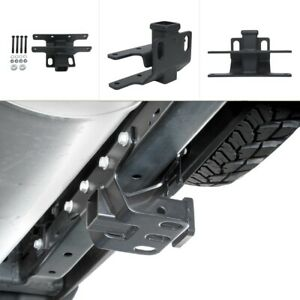 Towing Rear Trailer Square Hook Hitch Receivers For 2007 2018 Jeep Wrangler Jk