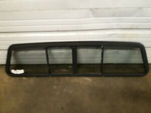 1990 Dodge Ram W150 Rear Window Back Glass Sliding