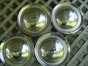 Vintage 1953 53 Chevrolet Chevy Impala Bel Air Nomad Wheel Covers Hubcaps