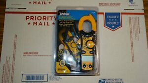 Ideal 61 746 Clamp Pro 600 Aac True Rms Clamp Meter New