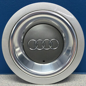 One 2003 2006 Audi A4 58760 Center Cap 17 6 Spoke Rim Wheel 8h0601165a New