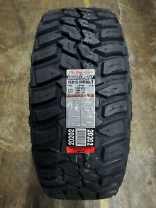 35x12 50r20lt Mastercraft Courser Mxt M t 121q 10ply Load E set Of 4