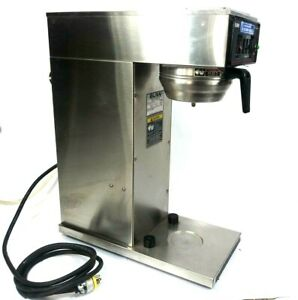 Bunn Cwt aps Series Commercial Coffee Brewer W Metal Funnel 240v 1 Phase