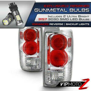 Superior Led Bulb Reverse Ford Expedition 97 02 Chrome Altezza Tail Light L R