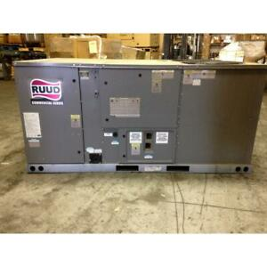 Rheem Rknl b073dl15e 6 Ton Commercial Classic 2stage Gas electric Packaged Unit