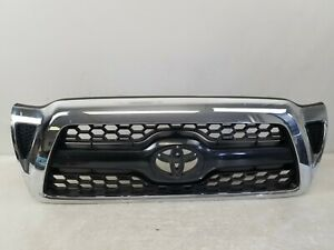 Toyota Tacoma 2005 2006 2007 2008 2009 2010 2011 Front Bumper Chrome Grille Oem