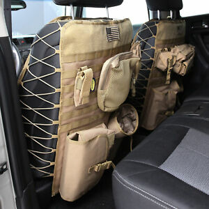 Smittybilt Gear Universal Truck Seat Cover Pair Coyote Tan 5661324