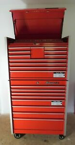 Snap on Cabinet 8 Drawers W Top Tool Chest Great Price