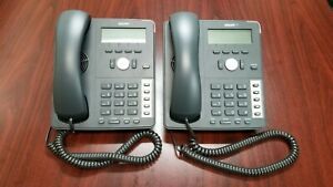 lot Of 2 snom 710 Voip Phone With Desk Stand And Handset Very Good Condition