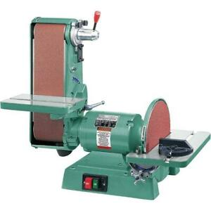 6 In. X 48 In. Belt 12 In. Disc 1725 RPM Combination Sander Woodworkers Tools