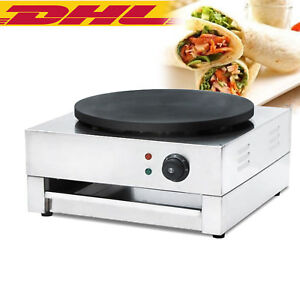 Quality Commercial Electric Crepe Maker Machine Pancake Kitchen Maker 3kw Sale