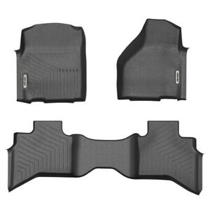 Floor Mats For 2012 2018 Dodge Ram 1500 Crew Cab All Weather