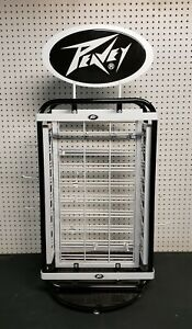 Peavey Rotating Tabletop Store Accessory Display dealer Display