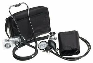 Prestige A2 Sphygmomanometer Stethoscope Kit With Matching Black Carrying Case
