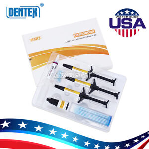 5 Boxes Orthodontic Adhesive Kit Primer Total etching Type For Brackets Bonding