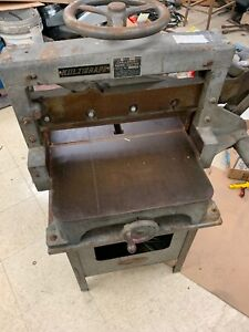 Challenge Industrial Paper Cutter With Stand Style F F4001 Size 193 Great Shape