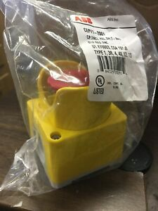 new Abb Plastic Emergency Stop Button Box cepy1 2001