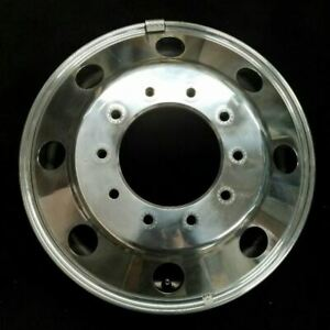 19 5 Ford F450 F550 Dually 2005 2019 Polished Front Oem Factory Alloy Wheel Rim