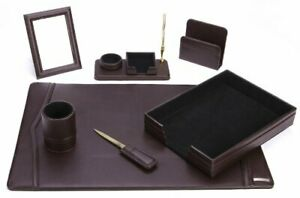 Office Supply Eco friendly Leather Desk Set 93 dsn7