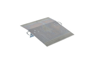30 In X 30 In 0 5k Hand Truck Aluminum Dock Plate Beveled Entrance And Exit