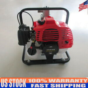 Gas Powered Water Pump Flood Irrigation Portable 2hp Water Transfer Pump 43cc