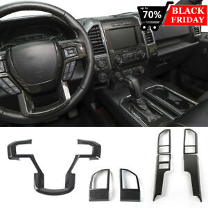 Car Interior Accessories Ornament Styling Trim Kit For Ford F150 2015 2018