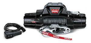 Zeon 10 s 10000 Warn Electric Winch Hawse Fairlead 100 3 8 Synthetic Rope 89611