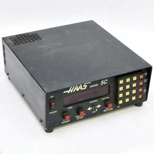 Haas 5c Automatic Digital Indexing Head Controller 7 Pin As is No Power