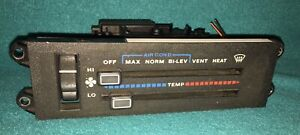1992 Xj Jeep Cherokee Climate Controls Heater With Air Conditioner 1987 1996