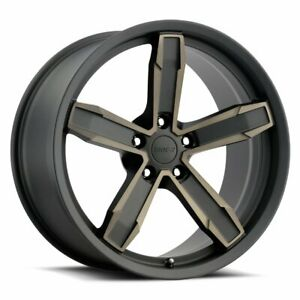 Factory Reproductions Z10 Iroc Z Rim 20x10 5x120 65 Et20 Blk Mach Brz Qty Of 4