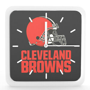 Nfl Cleveland Browns Home Office Room Decor Wall Desk Clock Magnet 6 x6