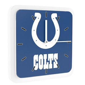 Nfl Indianapolis Colts Home Office Room Decor Wall Desk Clock Magnet 6 x6