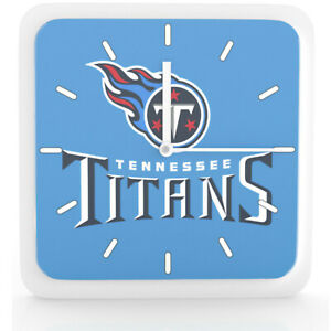 Nfl Tennessee Titans Home Office Room Decor Wall Desk Clock Magnet 6 x6