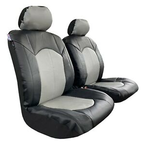 Front Car Seat Covers Premium Leatherette For Toyota Tacoma 1999 2019