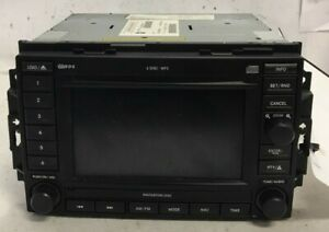 07 2007 Jeep Commander Am Fm Cd Player Navigation Radio Receiver Rec Oem Lkq