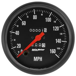 Autometer 2691 Speedometer Z Series 0 160 Mph 5 In Analog Mechanical Each